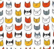 Some Cats by Amy Walters