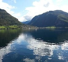 Norway Fjords -Photography + Products Design by haya1812