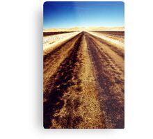 Remote road Metal Print