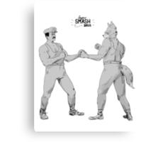 Old Timey Smash Bros Canvas Print