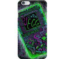 neon punk gameboy iPhone Case/Skin