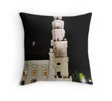 The Old Town in the Kaunas Throw Pillow