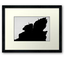 Guetteurs Framed Print
