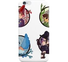 Over the Garden Wall Stickers iPhone Case/Skin