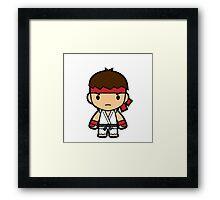 Karate Guy Framed Print