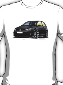 VW Golf (Mk7) GTi Black T-Shirt