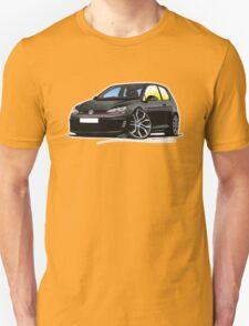 VW Golf (Mk7) GTi Black Unisex T-Shirt