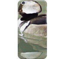 A Male  Merganser iPhone Case/Skin