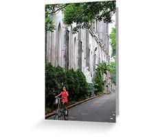 The Child & the Church - Hanoi, Vietnam. Greeting Card
