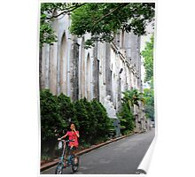 The Child & the Church - Hanoi, Vietnam. Poster