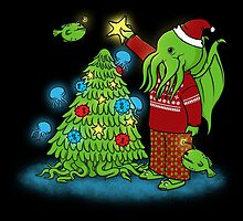 Cthulhu Christmas by pigboom