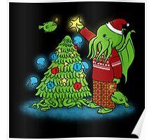 Cthulhu Christmas Poster