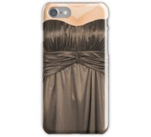 A dress to dress your phone iPhone Case/Skin
