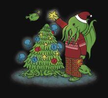 Cthulhu Christmas Kids Clothes
