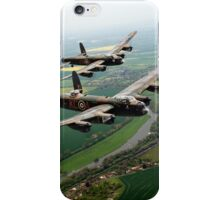 Two Lancasters over the Upper Thames iPhone Case/Skin