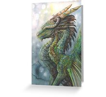 River Dragon Greeting Card