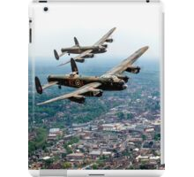 Two Lancasters over High Wycombe iPad Case/Skin