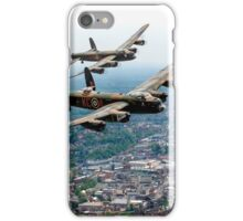 Two Lancasters over High Wycombe iPhone Case/Skin