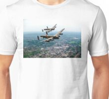 Two Lancasters over High Wycombe Unisex T-Shirt
