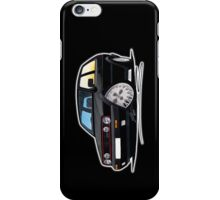 VW Golf GTi (Mk2) Black iPhone Case/Skin