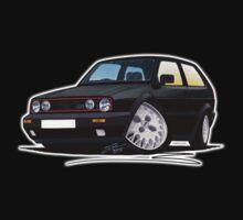 VW Golf GTi (Mk2) Black Kids Clothes