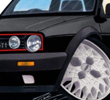 VW Golf GTi (Mk2) Black Sticker