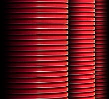 3 Red Pipes by Robert Meyer