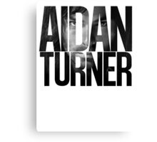 Aidan Turner Canvas Print