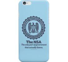 The NSA iPhone Case/Skin