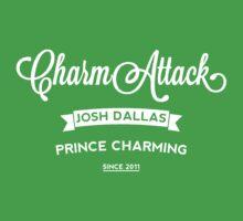 Josh Dallas - Charm Attack - Light Kids Tee