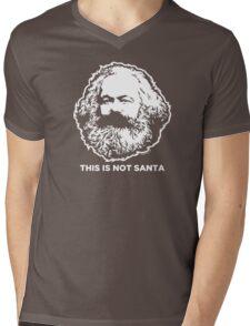 This Is Not Santa Mens V-Neck T-Shirt