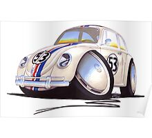 VW Beetle - Herbie Poster