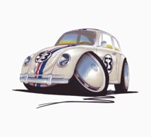 VW Beetle - Herbie One Piece - Short Sleeve