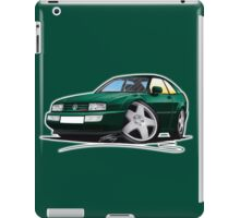 VW Corrado Green iPad Case/Skin