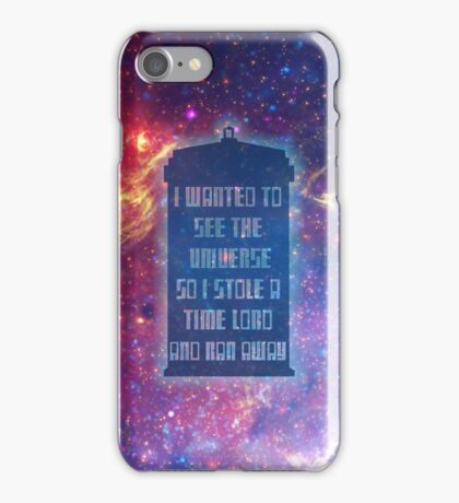 See the Universe iPhone Case/Skin