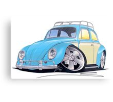 VW Beetle (Custom B) Metal Print