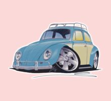 VW Beetle (Custom B) Kids Tee