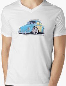 VW Beetle (Custom B) Mens V-Neck T-Shirt