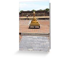 The Imperial City Dragon - Hue, Vietnam. Greeting Card
