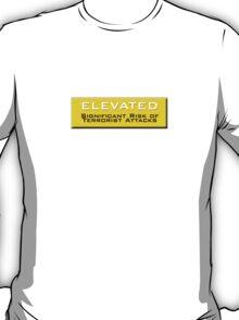 Elevated (Homeland Security Advisory System chart) T-Shirt