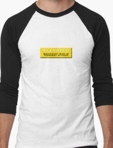 Elevated (Homeland Security Advisory System chart) Men's Baseball ¾ T-Shirt