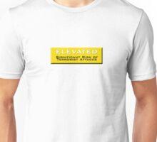 Elevated (Homeland Security Advisory System chart) Unisex T-Shirt