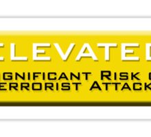 Elevated (Homeland Security Advisory System chart) Sticker
