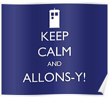 Keep Calm and Allons-y! - Doctor Who Poster