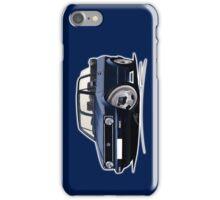 VW Golf (Mk1) Cabriolet Dark Blue iPhone Case/Skin