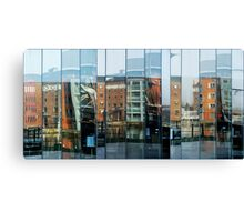 Faceted Aspects X3 Canvas Print