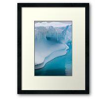 The Shape of Climate Change Framed Print