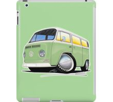 VW Bay Window Camper Van Light Green iPad Case/Skin