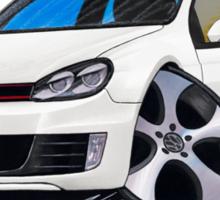 VW Golf GTi (Mk6) White Sticker