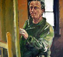 Self Portrait by Paul  Milburn